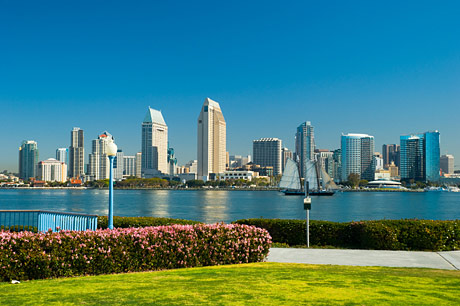 Sprachaufenthalt in San Diego, USA mit Skyline