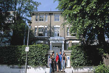 Sprachschule der LSI in London Hampstead, UK